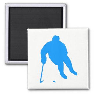 Hockey Silhouette Magnet