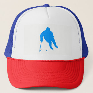 Hockey Silhouette Trucker Hat