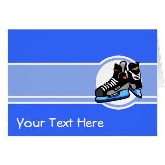 Hockey Skates; Blue Card