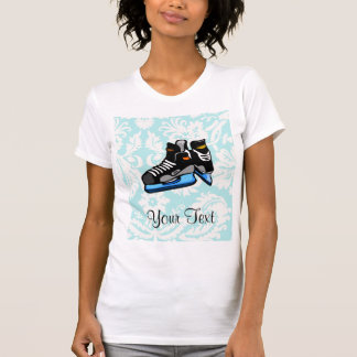 Hockey Skates; Damask Tee Shirts
