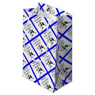 hockey small gift bag