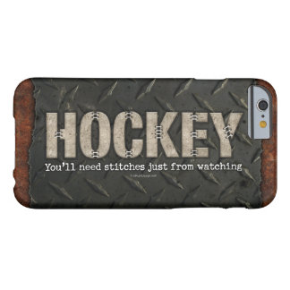 Hockey Stitches Barely There iPhone 6 Case