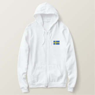 Hockey   Team SWEDEN Sports Embroidered Hoody