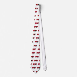 hockey text red tie