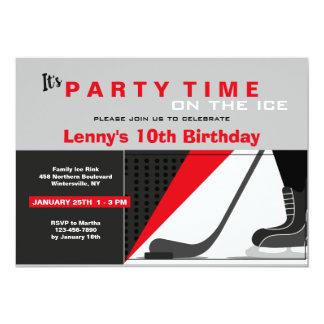 Hockey-theme Invitation