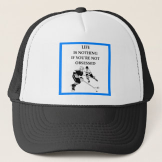 HOCKEY TRUCKER HAT