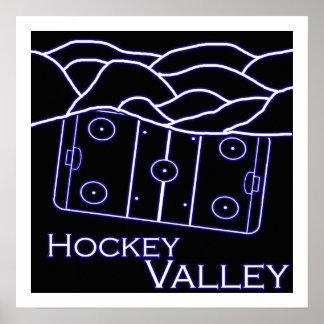 Hockey Valley Poster