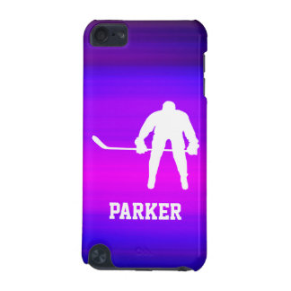 Hockey; Vibrant Violet Blue and Magenta iPod Touch 5G Cases