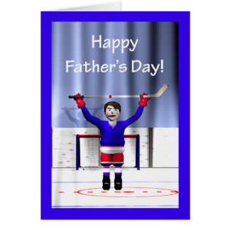Hockey Winner Father's Day Card