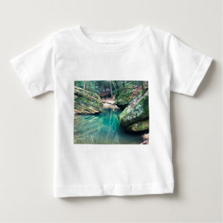 Hocking Hills Boulders Baby T-Shirt