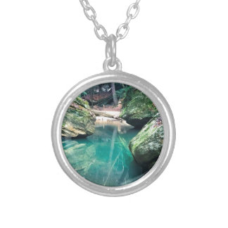 Hocking Hills Boulders Silver Plated Necklace