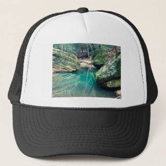 Hocking Hills Boulders Trucker Hat