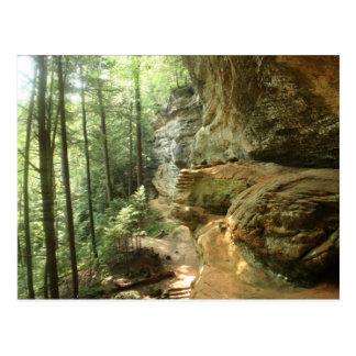 Hocking Hill's Cliff Postcard