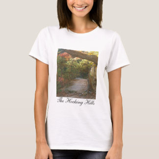 Hocking Hills View From the Bluff at Conkles Hollo T-Shirt