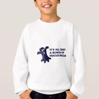 Hocus Pocus Ghost Boo Halloween Design Sweatshirt