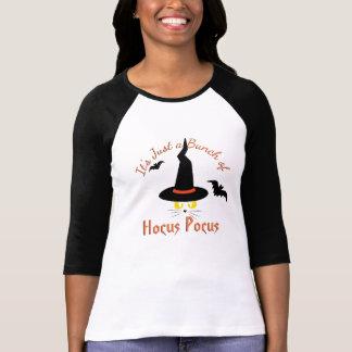 Hocus Pocus Halloween Cute Cat Witch Black Orange T-Shirt