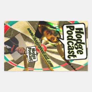 Hodgepodcast Darts Sticker Sheet