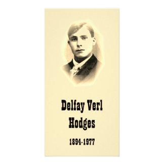 Hodges, Delfay Verl Photo Card