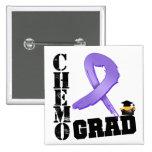 Hodgkin's Lymphoma Chemo Grad Button