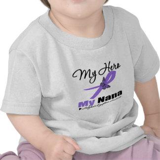 Hodgkins Lymphoma Ribbon My HERO My Nana T-shirts