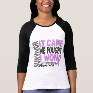 Hodgkins Lymphoma Survivor It Came We Fought I Won Shirts