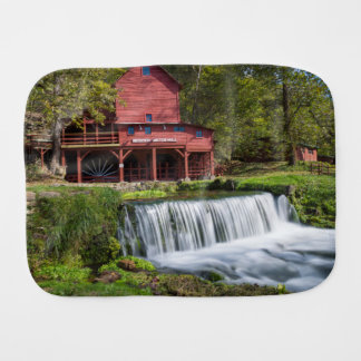 Hodgson Mill Landscape Burp Cloth