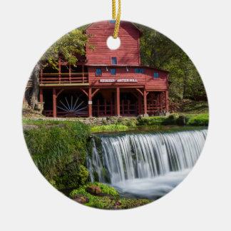 Hodgson Mill Landscape Ceramic Ornament