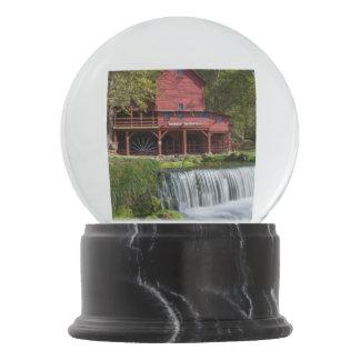 Hodgson Mill Landscape Snow Globe