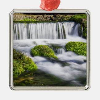 Hodgson Spring Falls Silver-Colored Square Decoration