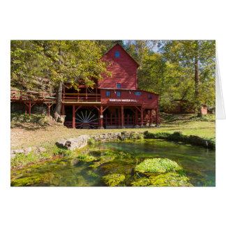 Hodgson Water Mill Card