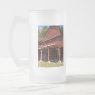 Hodgson Water Mill Frosted Glass Beer Mug