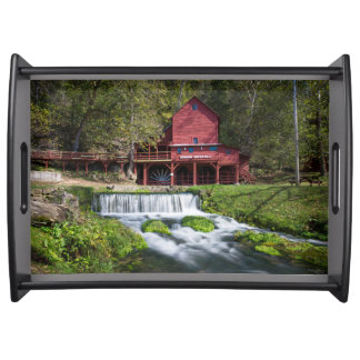 Hodgson Water Mill Landscape Serving Tray