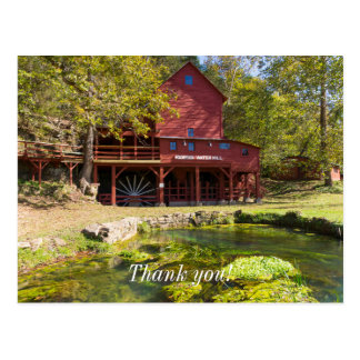 Hodgson Water Mill Postcard