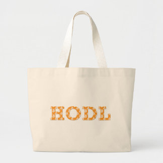 Hodl Bitcoin Large Tote Bag
