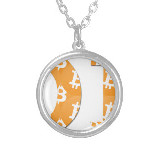 Hodl Bitcoin Silver Plated Necklace
