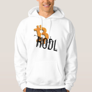 Hodl Bitcoins crypto hoody - Crypto nerd more