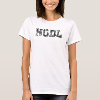 Hodl Cryptocurrency Print T-Shirt