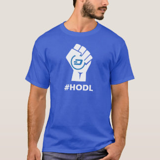 HODL Dash Logo: White T-Shirt