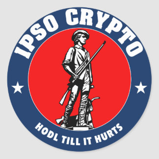 Hodl Till It Hurts: Guard sticker