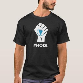 HODL Verge XVG Logo: White T-Shirt