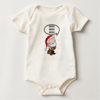 hodlsanta2 baby bodysuit