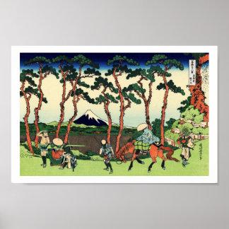 Hodogaya on Tokaido Poster