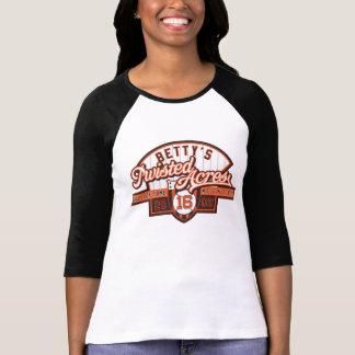 HOF16 Ladies 3/4 Sleeve Raglan (Fitted) T-Shirt