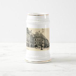 Hofbrauhaus, Munich, Germany 1900 Vintage Beer Stein