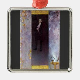 Hofburg actor Josef Lewinsky as Carlos by Klimt Ornaments
