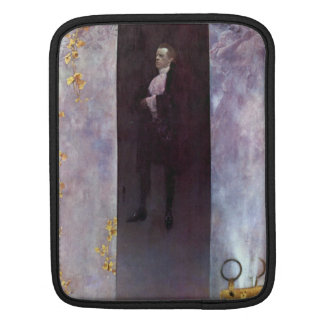 Hofburg actor Josef Lewinsky as Carlos by Klimt iPad Sleeve