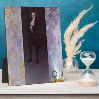 Hofburg actor Josef Lewinsky as Carlos by Klimt Display Plaque