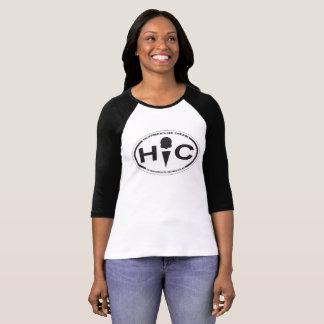Hoffman's Oval Logo 3/4 Sleeve Raglan T-Shirt