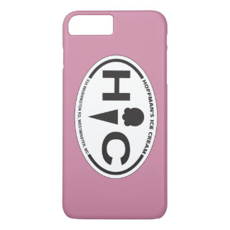 Hoffman's Oval Logo iPhone 7 Plus Case Pink