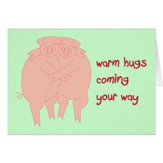 Hog Me Card